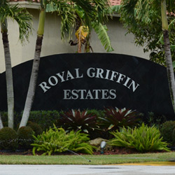 Royal Griffin Estates Cooper City Fl
